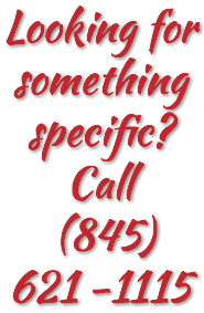 Looking for something specific? Call (845) 621 -1115